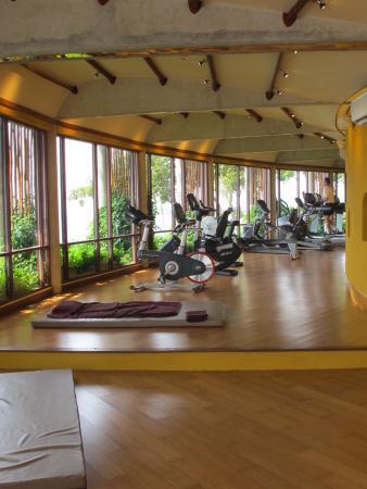 Laem Set, Tailândia: Fitness center