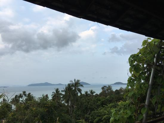 Laem Set, Thailand: View from balcony