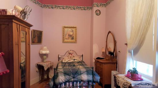 Sumpter, Oregón: The Rose Room Single Bed