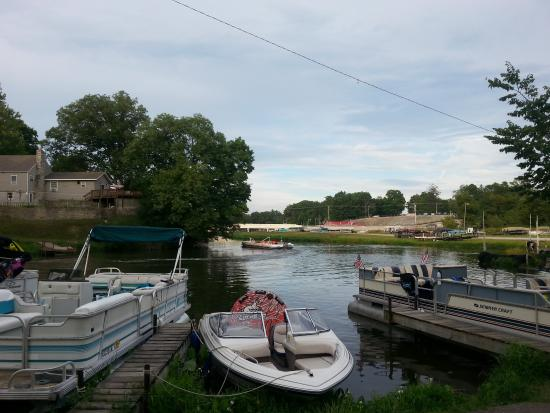 Indiana Beach & IB Crow Campground and RV Resort: Boat Dock