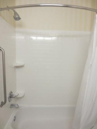 Burnsville, MN: Shower and tub in bathroom.