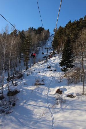 Гора Церковка: Подъем