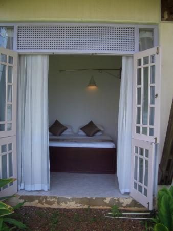 Aida Ayurveda & Holistic Health Resort: doors onto the garden