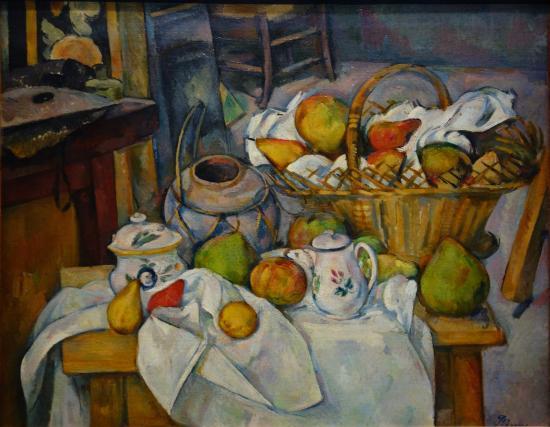 Paul c zanne les joueurs de cartes picture of musee d - La redoute table cuisine ...