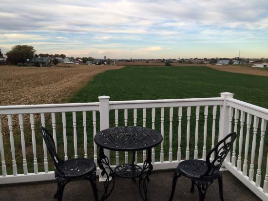 Amish Country Motel: View from back