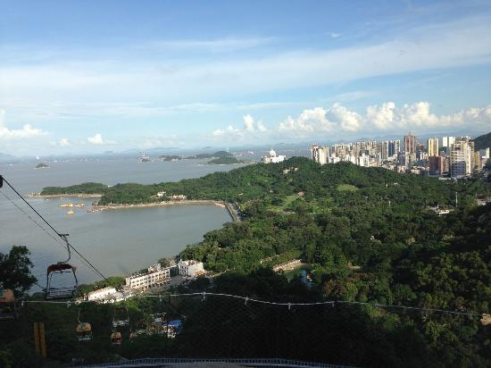 Zhuhai, China: view from top of the mountains