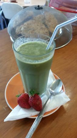 Whanganui, Yeni Zelanda: Green Smoothies so good