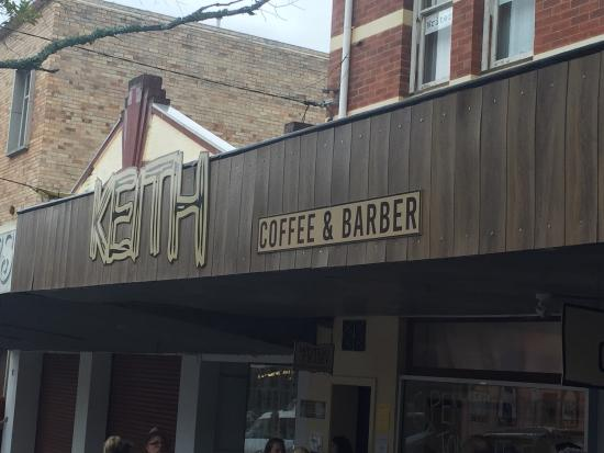 Murwillumbah, Australien: Keith Coffee and Barber