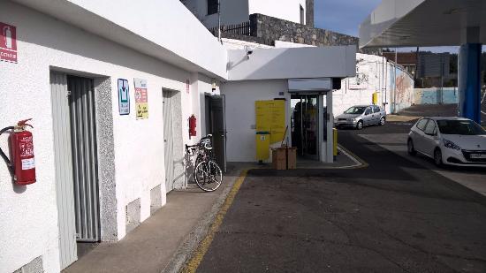 Vilaflor, Spanien: Gas station