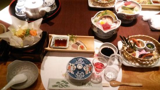 Tonosho-cho, Japón: 夕食