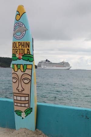 โรดทาวน์, Tortola: Le parc...et notre bateau resté au large