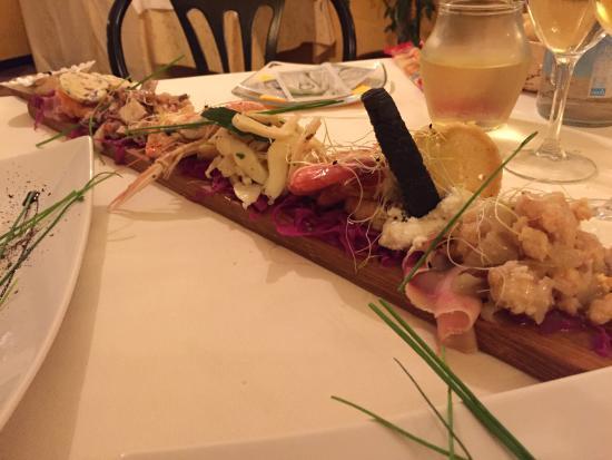 Rovigo, Italia: Antipasto degustazione