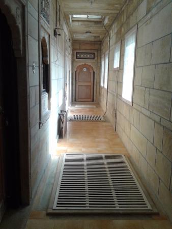 Hotel Siddhartha: Corridor