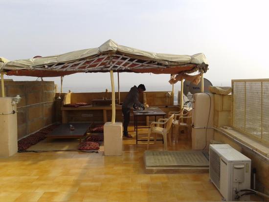 Hotel Siddhartha: Rooftop.