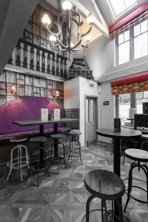 Northwich, UK : Downstairs bar area of Chime