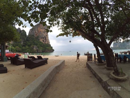Railay Princess Resort and Spa: Photo take with no edit ��