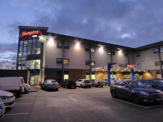 Corby, UK: Hotel exterior