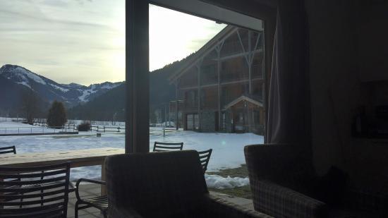 Mont Blanc Alpine Estate: Vues d'un des appartements