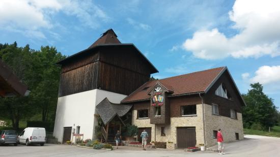 Villers-le-Lac, Francia: tuyé