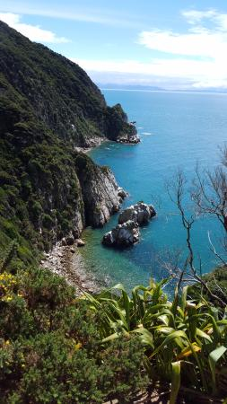 Abel Tasman National Park, Nieuw-Zeeland: View Along Separation Point