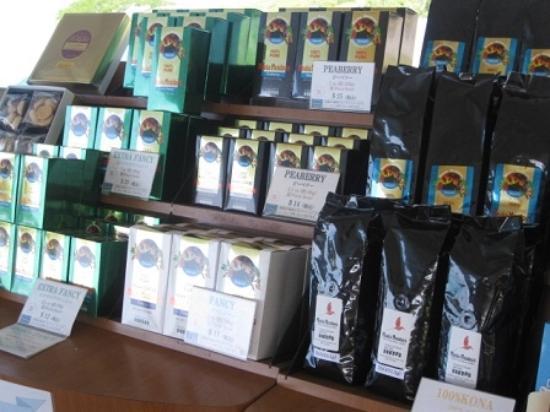 Holualoa, HI: 販売されてるコーヒー