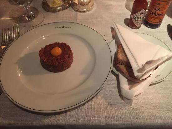 The Delaunay: steak tartar