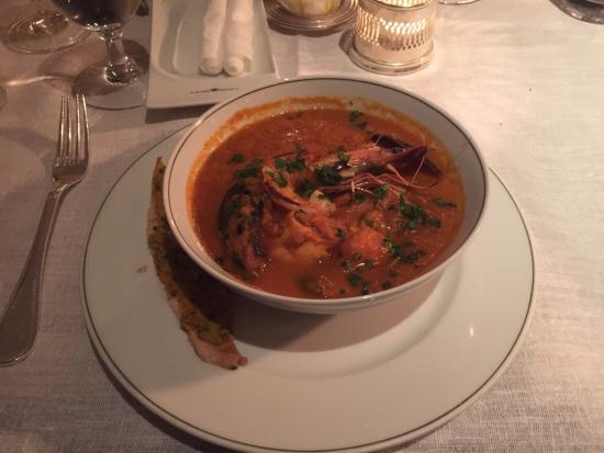 The Delaunay: italian fish stew, very tomatoey