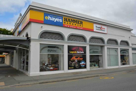 Invercargill, Nueva Zelanda: The front of the building