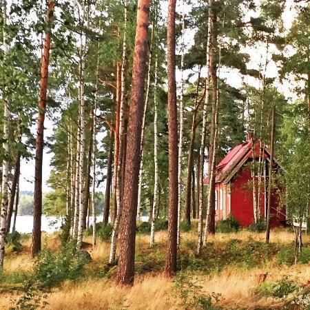 Kotka, Finlande : I did love the nature around Villa Kärkisaari