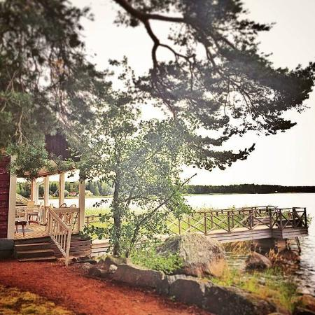 Kotka, Finlande : The Beach Sauna and you can go to swim in the ocean.