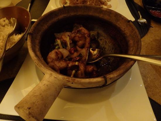 Ba Restaurant & Lounge: Diese Scampis waren wirklich einmalig zubereitet! Habe extra scharf bestellt und auch bekommen!!