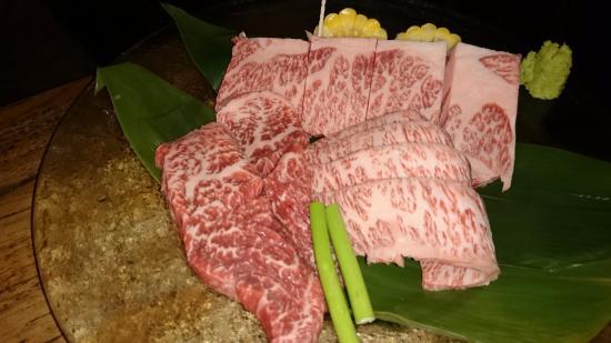 Tsu, Japón: 松阪牛セット