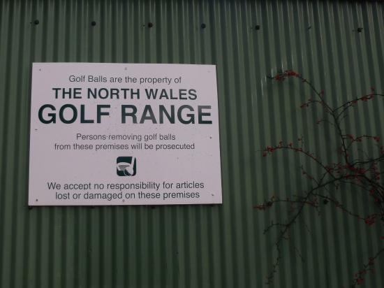 St. Asaph, UK: North Wales Golf Range ..