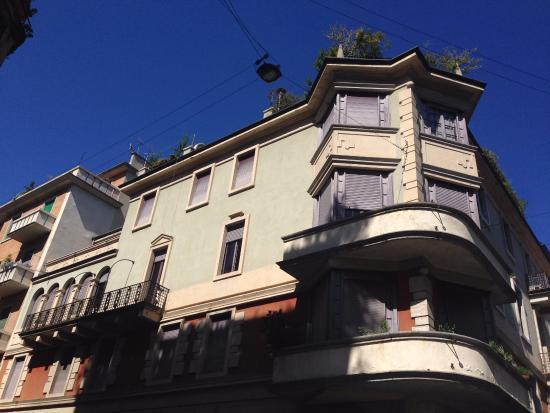 L 39 esterno della palazzina picture of casa museo boschi for Casa museo boschi di stefano