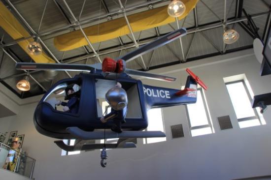 Hal Far, Malta: Plafond et deco Police