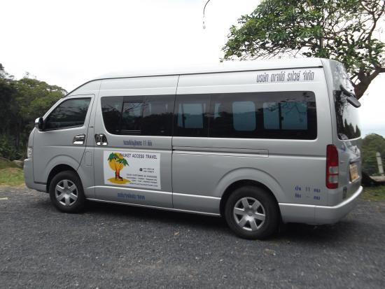 Chalong, Thailand: Our Wheelchair Accessible Van