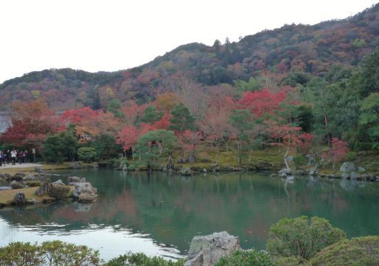 Tenryuji Temple: 曹源池