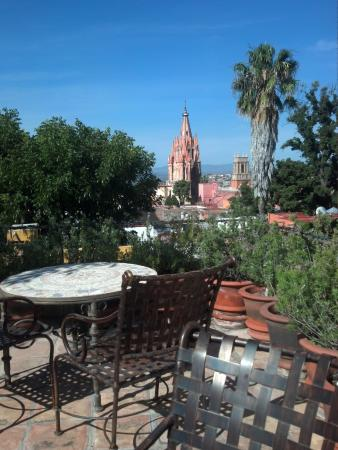 Casa Misha: View from rooftop terrace.
