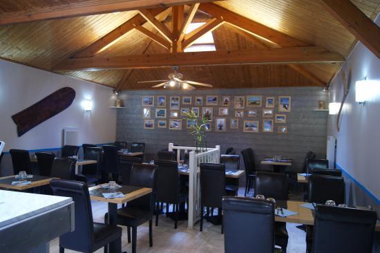 La Roche-sur-Yon, France : intérieur restaurant