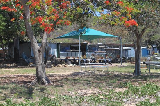 Clairview, Australia: The restaurant