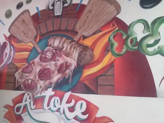Collado Villalba, Испания: Nuestro muro
