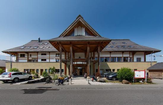 Thun, Schweiz: Tempel von der der Eingangsseite