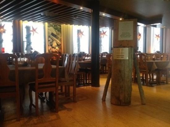Luosto, Finlandia: Ресторан