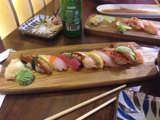 Ryde, Australia: lovely sushi