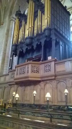 Tewkesbury Abbey: Abbey Organ