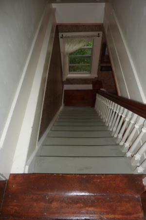 Panguitch, UT: Treppe im Haupthaus