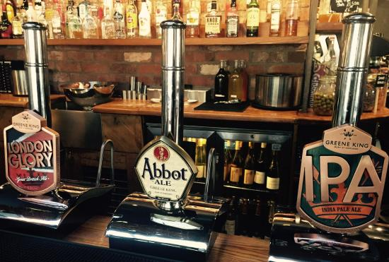 Тонтон, UK: New Year - New Beer - our new draught beers