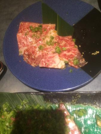 Fujioka, Japan: 特上タン塩、和牛カルビ、美味しい