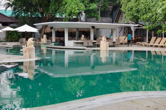 Bali Garden Beach Resort Main Pool And Swim Up Bar