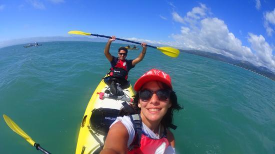 Мотуэка, Новая Зеландия: Arriba del kayak